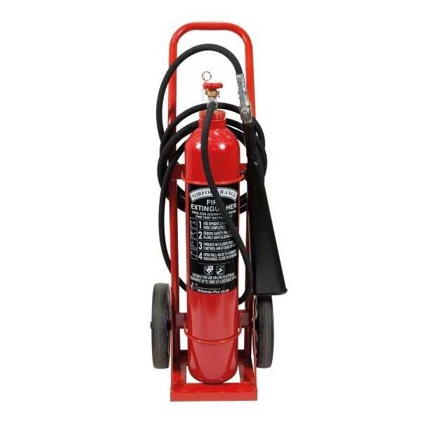 Britannia 10kg Wheeled CO2 Extinguisher