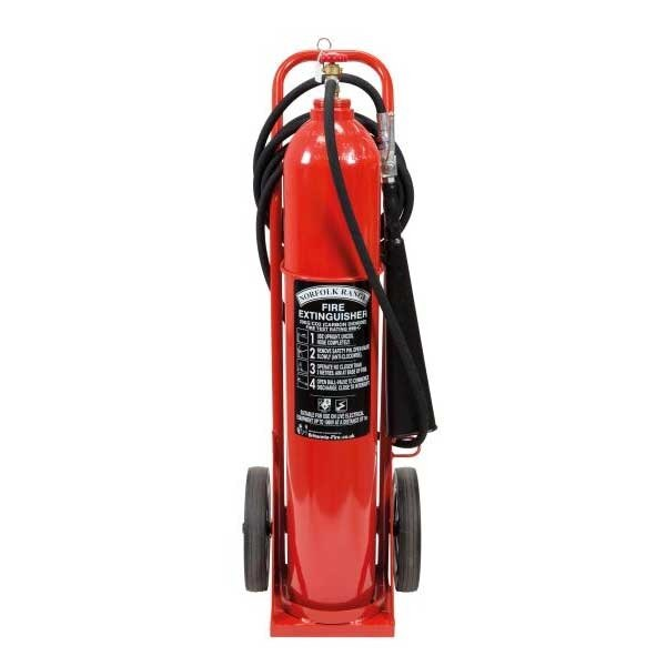 Britannia 20kg Wheeled CO2 Extinguisher