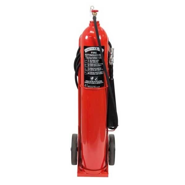Britannia 30kg Wheeled CO2 Extinguisher