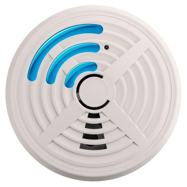 Mains Powered Radio-Interlinked Optical Smoke Alarm - BRK 660RF