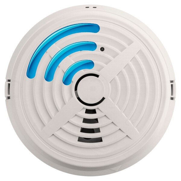 Mains Powered Radio-Interlinked Optical Smoke Alarm - BRK 760RF