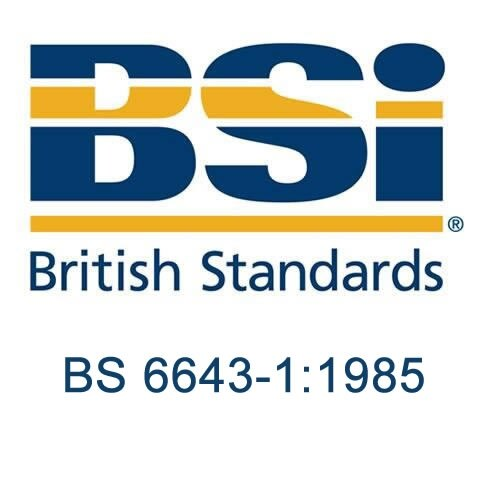 British Standard - BS 6643-1:1985 - Recharging fire extinguishers (manufactured to BS 5423 'Specification for portable fire extinguishers'). Specification for procedure and materials