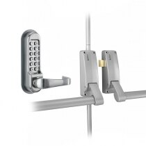 Briton 377 Double Door Panic Bar Set with Code Lock OAD