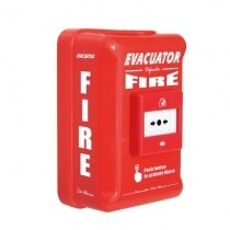 Evacuator Defender alarms with call point