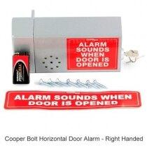 Cooper Bolt Horizontal Door Alarm - right handed version