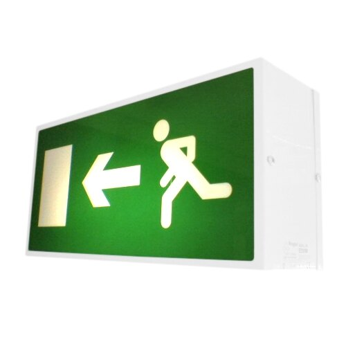 Double-Sided Emergency Fire Exit Sign (Fire Exit Box) Slave Unit - EDS/SL