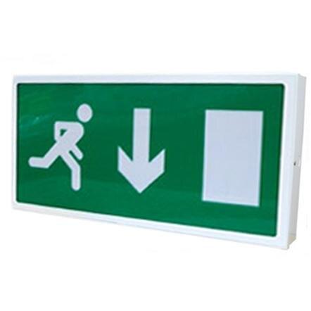 Large General Purpose Fire Escape Route Sign EXS