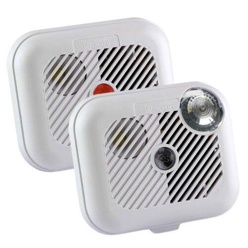 Ei100L Smoke Alarm with Escape Light + FREE Ionisation Smoke Alarm