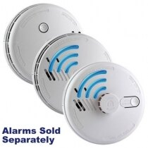 Ei160RF Series - Smoke Alarms with Lithium backup Battery & Radio-interlink