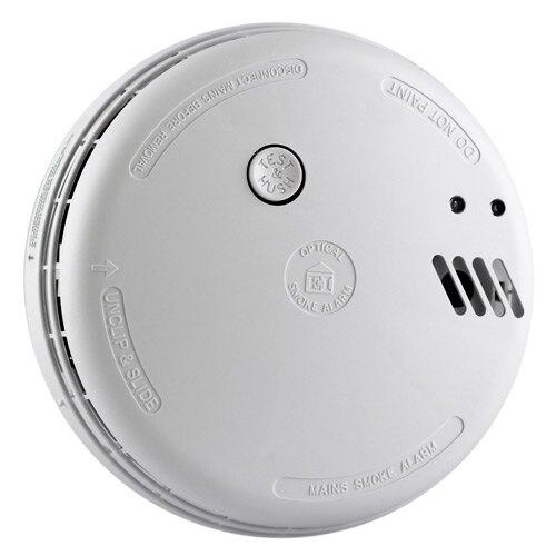 Ei146 - Optical Smoke Alarm with Interlink
