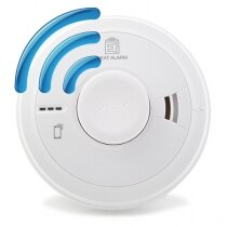 Mains Radio-Interlinked Heat Alarm with Back-up - Ei3014RF