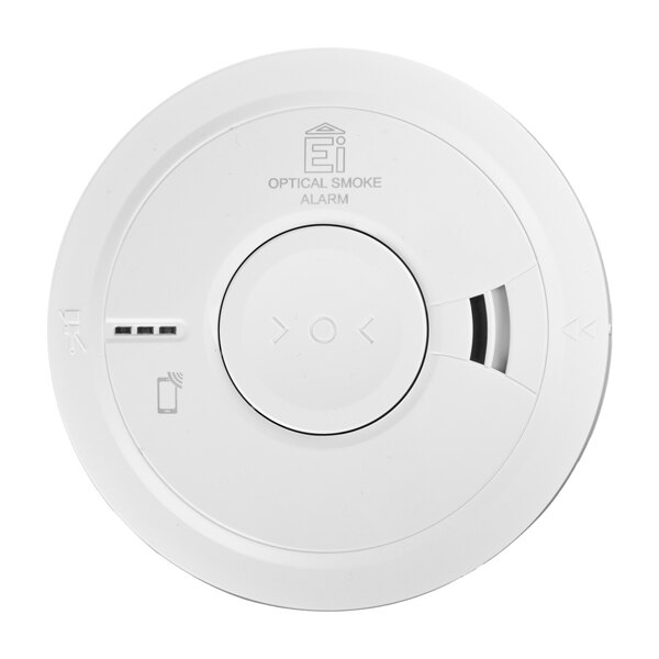 Supplied with a genuine Ei3016 optical smoke alarm