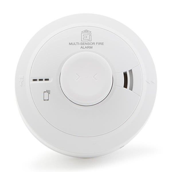 Mains Powered Multi-Sensor Alarm with Backup - Ei3024