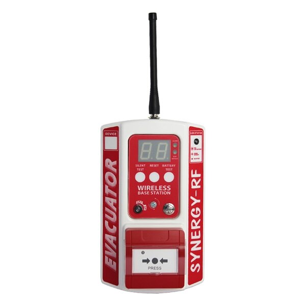Evacuator Synergy RF Base Station Site Alarm