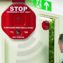 Exit Stopper door alarm - designed for double doors