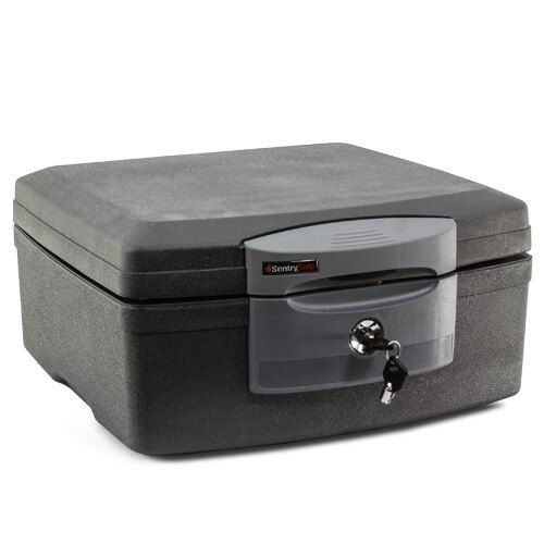 Sentry F2300 fire and waterproof box for document protection