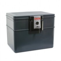 First Alert 2037 fire and waterproof document box for paper protection