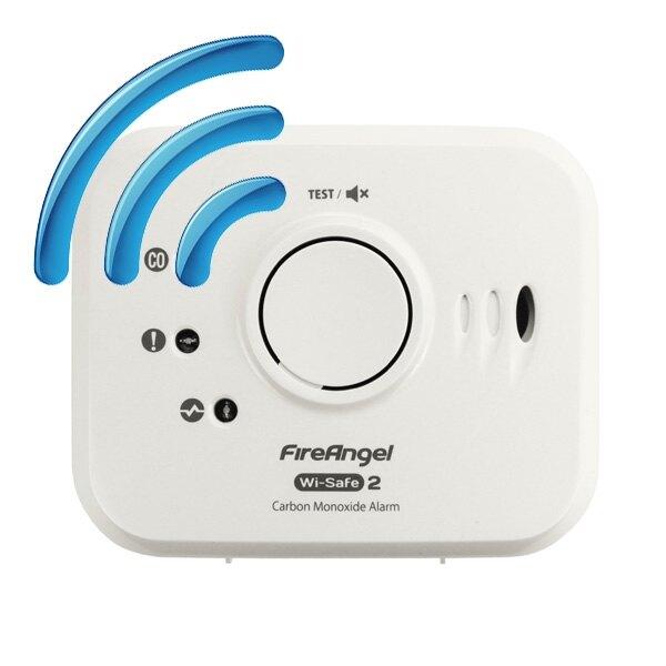 radio interlinked carbon monoxide detector fireangel w7 co 10x. Black Bedroom Furniture Sets. Home Design Ideas