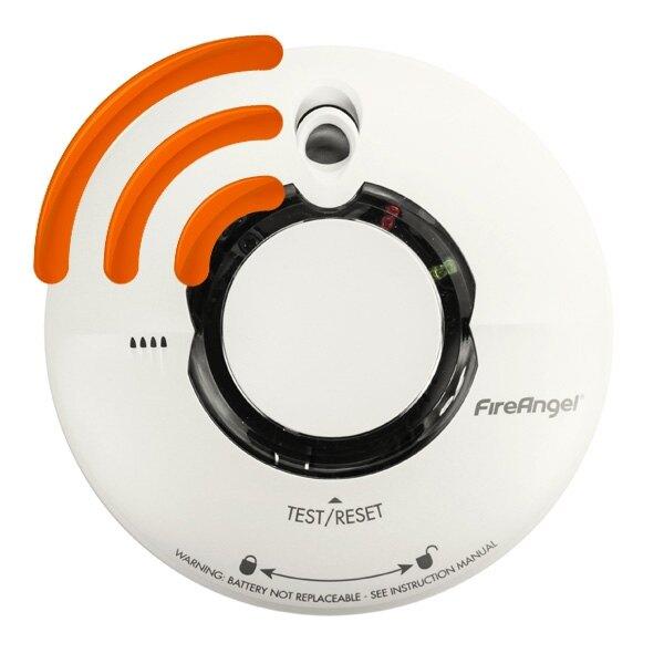 wi safe 2 thermoptek smoke alarm fireangel wst 630. Black Bedroom Furniture Sets. Home Design Ideas
