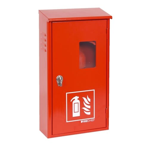 2kg CO2 metal fire extinguisher cabinet with seal latch closer