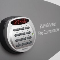 With clear LED display, dual control, hidden code & scrambled code