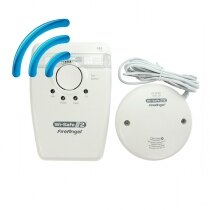 FireAngel W2-SVP-630 Radio-Interlinked Strobe and Vibrating Pad for the Deaf and Hearing Impaired