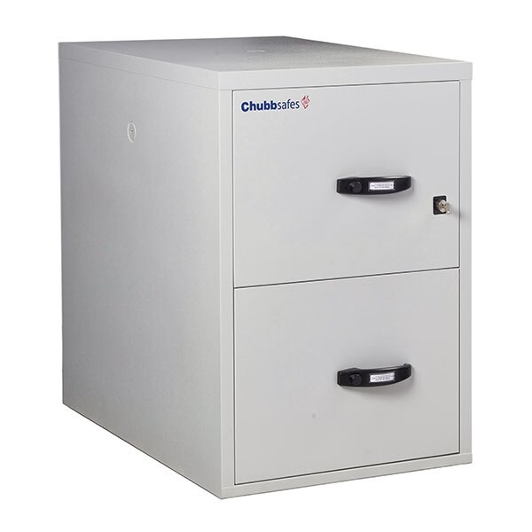 Chubbsafes 2 Hour Fire File Cabinet - 2 Drawer