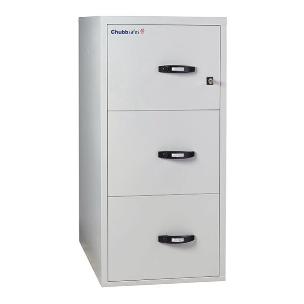 Chubbsafes 2 Hour Fire File Cabinet - 3 Drawer