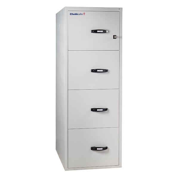 Chubbsafes 2 Hour Fire File Cabinet - 4 Drawer