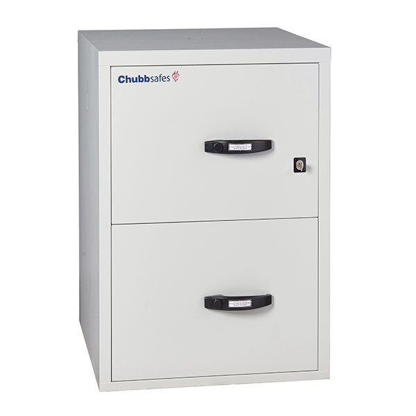 Chubbsafes 1 Hour Fire File Cabinet - 2 Drawer