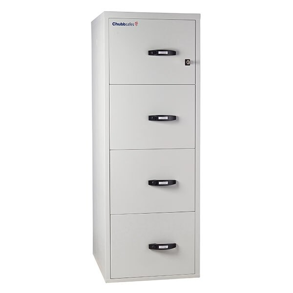 Chubbsafes 1 Hour Fire File Cabinet - 4 Drawer