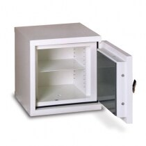The Firesec 10/120 is supplied with 1 adjustable shelf