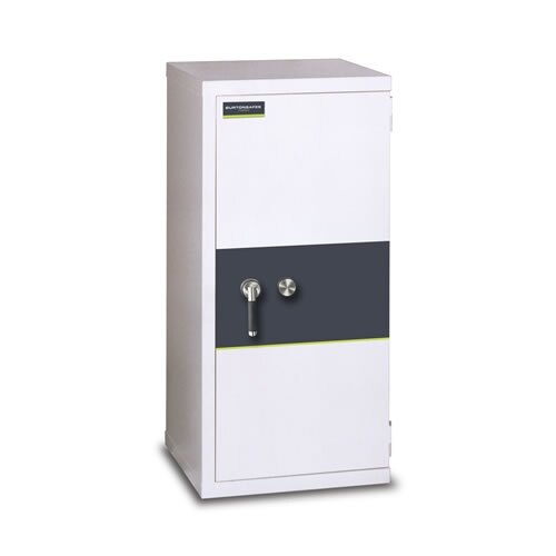 Burton Firesec 10/120 Fire and Security Safe with Key Lock