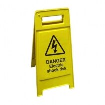 Janitorial Cleaning Sign - Electric Shock