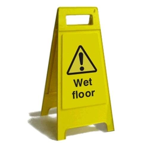 Janitorial Cleaning Sign - Wet Floor