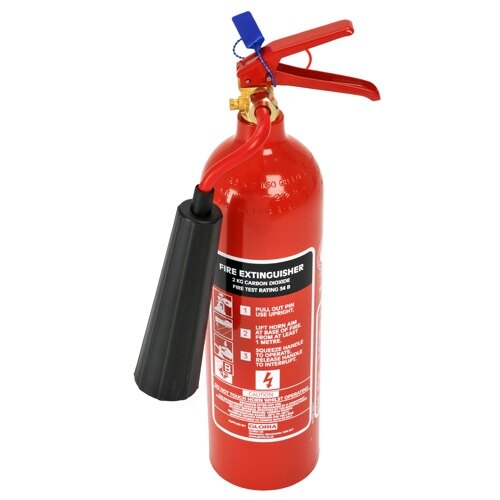 2kg CO2 Fire Extinguisher - Gloria C2GH
