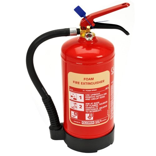 3ltr Foam Fire Extinguisher - Gloria S3DLWB
