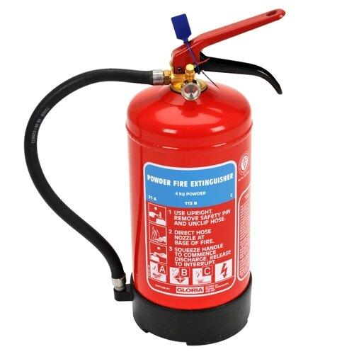 4kg Powder Fire Extinguisher - Gloria PD4GA