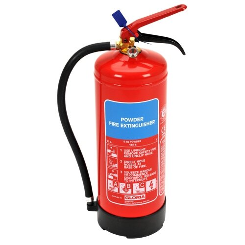 6kg Powder Fire Extinguisher - Gloria PD6GA