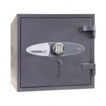 Optional combined VdS class II electronic and VdS class II key lock