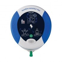 Illuminated pictorials guide rescuers through CPR and use of the AED in emergencies