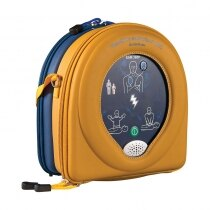 Clear viewing panel helps ensure the AED is present and undamaged at all times