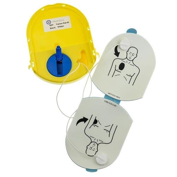 HeartSine Trainer-Pak with Rewind Mechanism