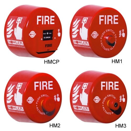 Howler Heavy Duty Site Alarms with Multilink