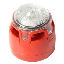 Honeywell EN 54-23 Approved Sounder Beacon with Low Profile Base