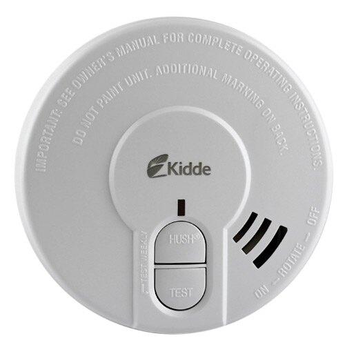 9v optical smoke alarm with test and hush button kidde 29hd. Black Bedroom Furniture Sets. Home Design Ideas