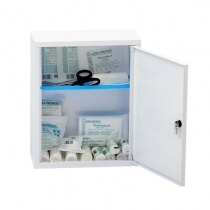 The Leina Medisan first aid cabinet is supply with 1 adjustable shelf