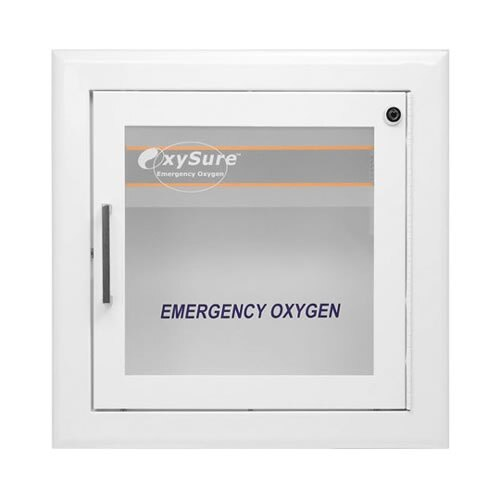 OxySure Wall Mounted Display Cabinet