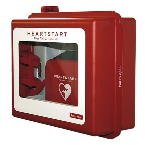 Philips HeartStart Defibrillator Wall Cabinet