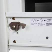 The Phoenix Firefile 2244 Fireproof Cabinet locking device